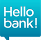 Hello bank! logo, square, 82x91
