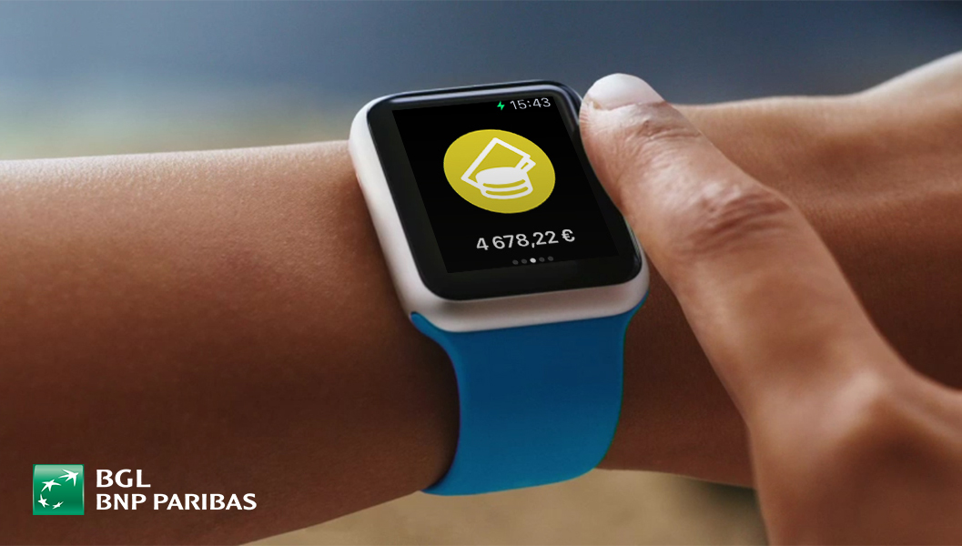 94cb3aa8364 Web Banking App compatible with the Apple Watch - BNP Paribas Group ...