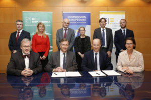 BGL BNP Paribas and The European Investment Fund (EIF) have signed an InnovFin SMEG agreement.