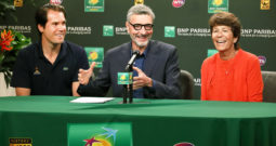 BNP Paribas Open press conference