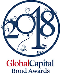 Logo of the Global Capital Bond Awards 2018