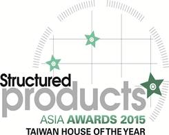 Structured Products Asia Awards 2015 - Taiwan house