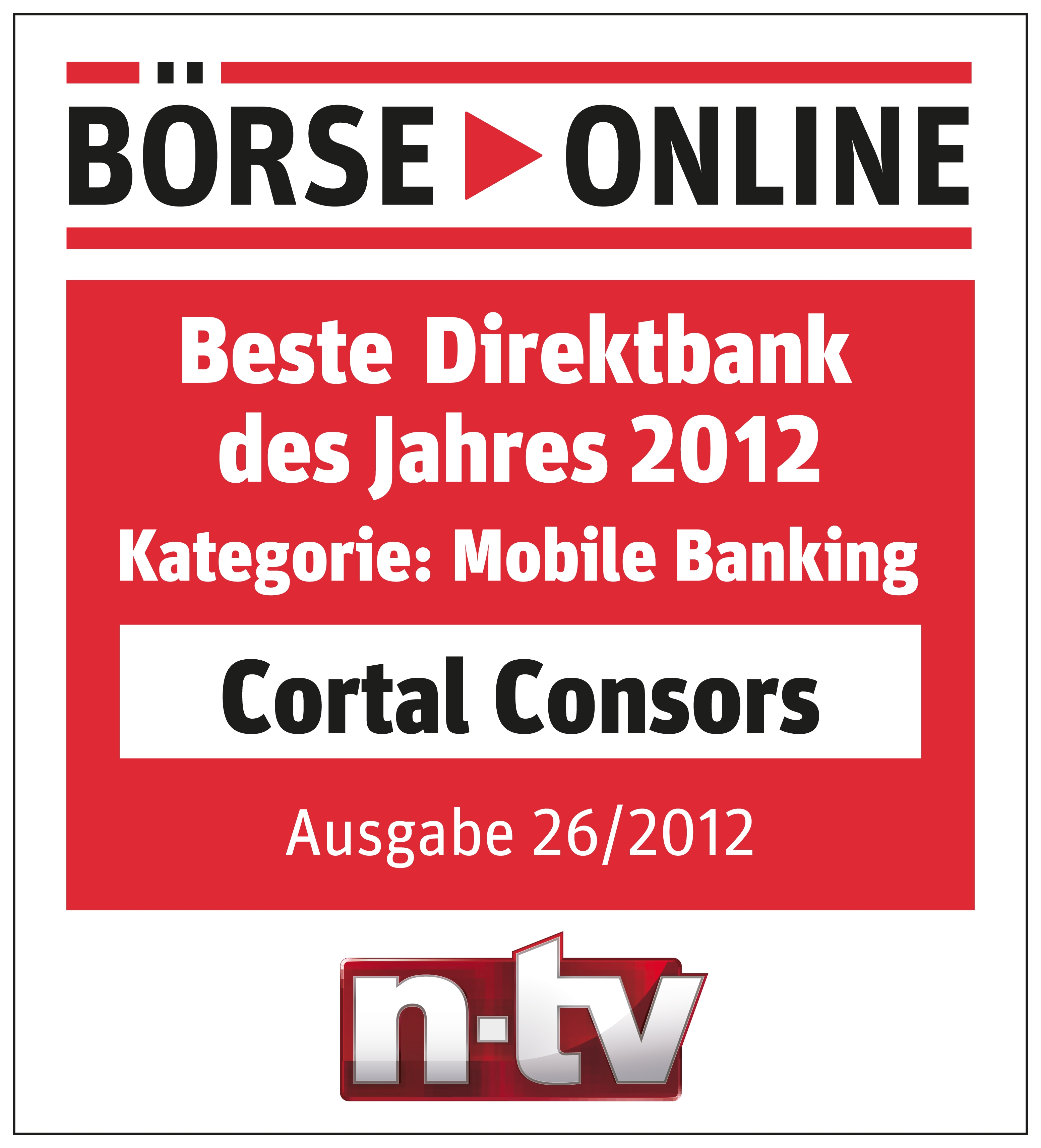 cortal consors ist beste direktbank im mobile banking bnp paribas deutschland. Black Bedroom Furniture Sets. Home Design Ideas