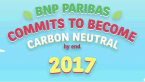 BNP Paribas commits to become carbon neutral