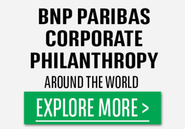 BNPP Corporate Philanthropy Button