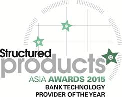 Structured Products Asia Awards 2015 - Bank tech.