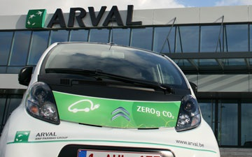 Arval, Zero CO2 gram car project