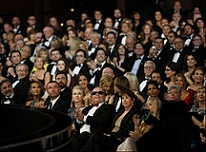 Backstage at the Oscars 2013