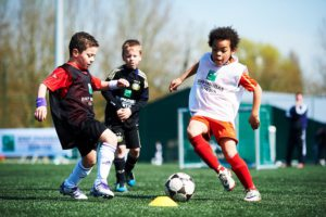 The Talent Days, trials for soccer hopefuls and great fun for the youngsters who take part.