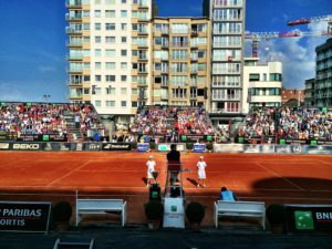 In 2014 the final Rising Stars Tennis Tour tournament took place in Middelkerke in mid-September.